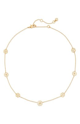 scatter floral station necklace KATE SPADE NEW YORK