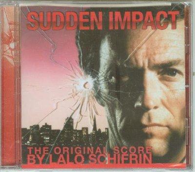 """""""辣手神探勇勁沖天 撥雲見日(Sudden Impact)""""- Lalo Schifrin(35),全新美版"""