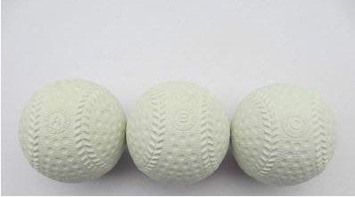 【軟式橡膠棒球-練習用-橡膠-9英寸直...