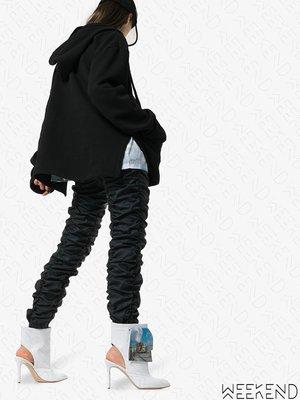 【WEEKEND】 NATASHA ZINKO Beach Trash 露跟 高跟 踝靴 短靴 白色