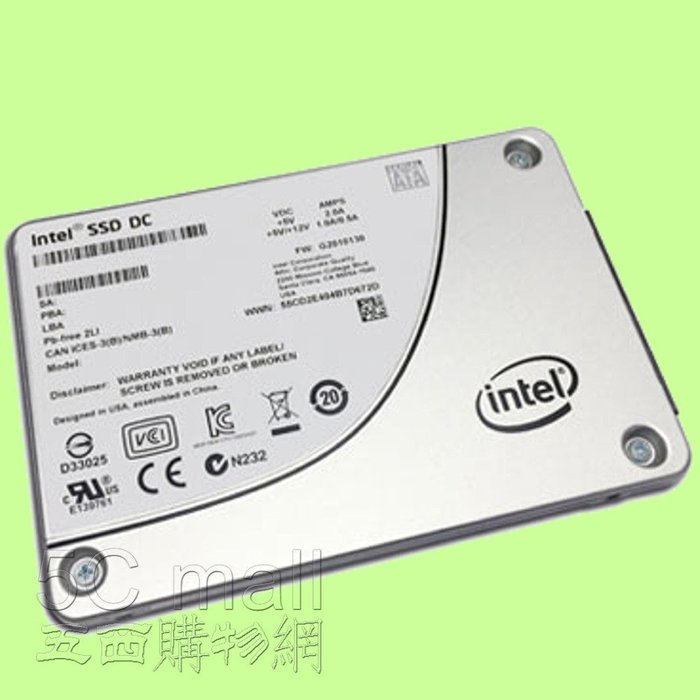 5Cgo【權宇】陸版公司或SSD DC S3520 150Gb 150G 3D MLC SSDSC2BB150G701