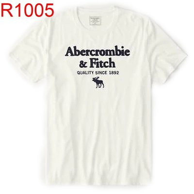 【西寧鹿】Abercrombie & Fitch AF A&F  男生 短袖T恤 絕對真貨 可面交 R1005