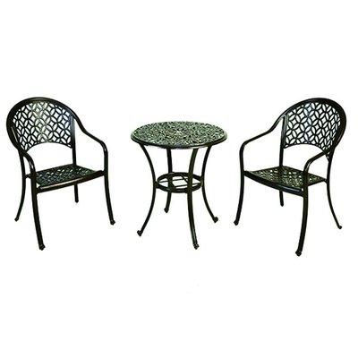 【紅豆戶外休閒傢俱】中國風鋁合金桌椅組 一桌二椅 庭園桌椅 咖啡廳桌椅 餐廳桌椅 中庭桌椅 民宿桌椅 農場桌椅 鋁合金桌