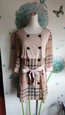 BIDITIRRY 雪紡格紋上衣(144)