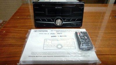 TOYOTA 原廠 藍芽 音響主機 USB MP3 RAV4 WISH VIOS INNOVA (優惠價2500元)