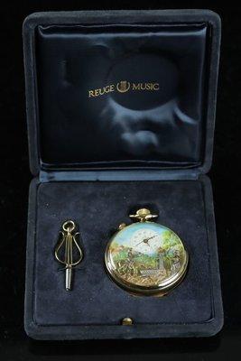 瑞士國寶御爵 Reuge八音盒 懷錶