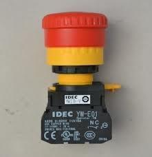 全新IDEC和泉 EMO/EMS緊急停止用按鈕開關φ22mm(2b) YW1B-V