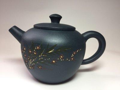 紫砂壺~梅花巨輪/天青泥
