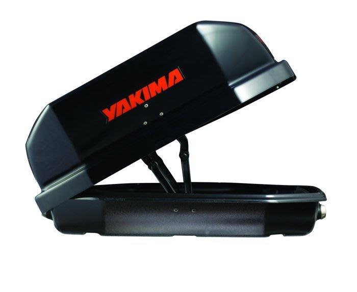 阿勇車頂行李箱 雙邊開 YAKIMA天空行李箱 黑色卡夢碳纖紋路 600公升 Skybox 21S CarBonit