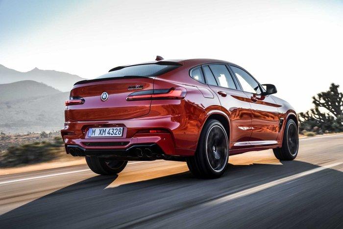 【樂駒】BMW F98 X4M 原廠 尾翼 素材 可烤漆 Trunk Spoiler 改裝 套件 空力 套件