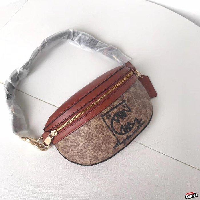 【全球購.COM】COACH 寇馳 73939 Selena 腰包 胸包 女生斜背包 肩帶可調節 原裝正品 美國代購