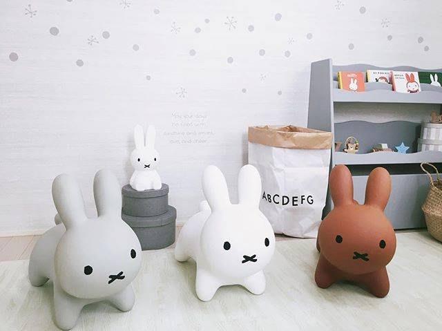 日本 Miffy米飛兔趣味彈力跳跳馬