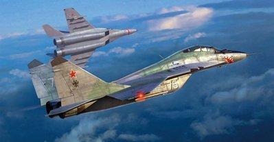 【TRUMPETER 01677】小號手 1/72 俄羅斯 MIG 米格-29UB 支點 FULCRUM 換裝 教練機