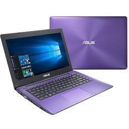 零件機 ASUS X453M N3540 4G 內顯(紫)(過電不開機時好時壞)只拆硬碟