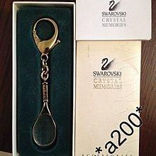 swarovski key holder 鎖匙釦  網球拍