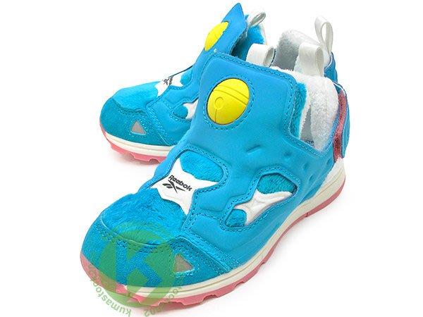 atmos DORAEMON PACKER Reebok VERSA PUMP FURY 小童鞋 幼童鞋 BS7842