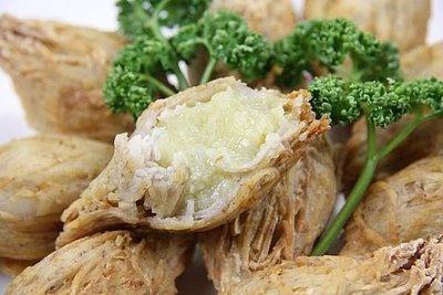 【素食年菜-奶素】金椎榴槤 (10入) / 盒 ~ 濃濃的榴槤香味挑動您的味蕾