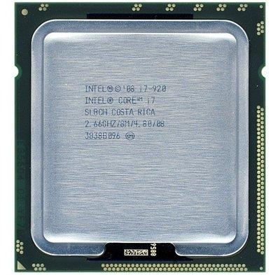 【含稅】Intel Core i7-920 2.66G D0 SLBEJ 8M 130W 1366 四核八線  全新庫存 桃園市