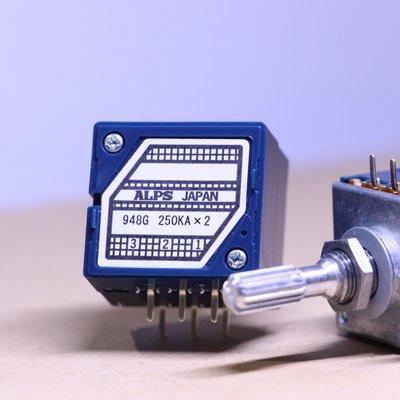 日本 ALPS 可變電阻 雙聯 RK27 音量 VR 10K,20k,50k,100k,250k A-type