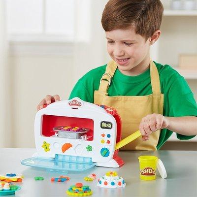 ~孩之寶培樂多兒童手工益智DIY創意廚房系列神奇電子烤箱套裝B9740