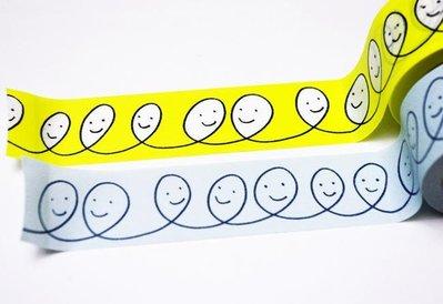 【R的雜貨舖】紙膠帶分裝 日本mt和紙膠帶mt x mina perhonen_neighbor 皆川明 微笑黃