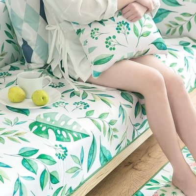 冰絲沙發墊客廳防滑藤竹席涼墊天涼沙發套靠背巾罩坐墊子『舒心生活』
