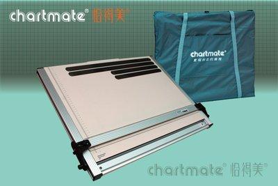 chartmate 恰得美 製圖桌:368DM-60WTP A2攜帶式軌道平行儀製圖板