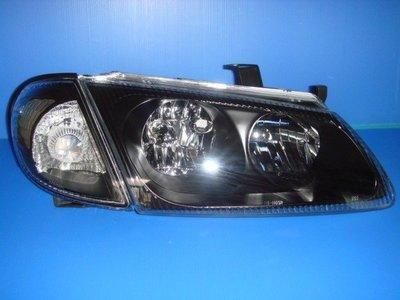 小亞車燈╠ 全新SENTRA-180.N16黑框大燈+黑角燈只要2300元DEPO製