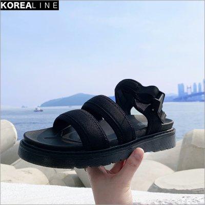 搖滾星球韓國代購  扣帶夏日涼鞋 / 2色 GTE416