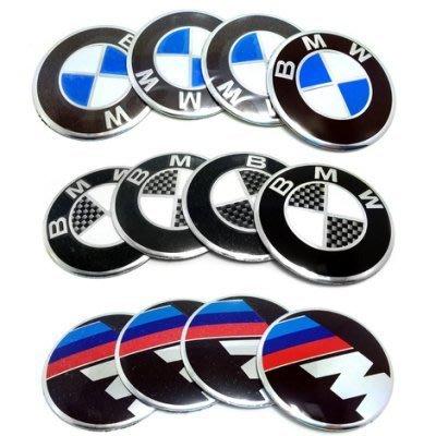 BMW寶馬輪轂標 寶馬M輪轂標 輪蓋標誌貼 改裝標 中心圈 貼標 標誌貼 輪轂蓋子中心標誌貼 單個