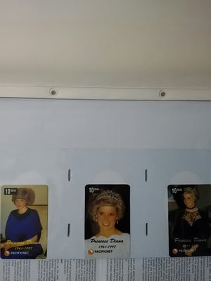 Princess Diana 戴安娜 電話咭 card number 1一18 共18張 Limited Edition of 2000