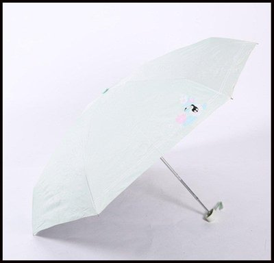 哆啦本鋪 五折超輕小韓國小清新晴雨傘兩用防曬防紫外線黑膠折疊遮陽太陽傘D655