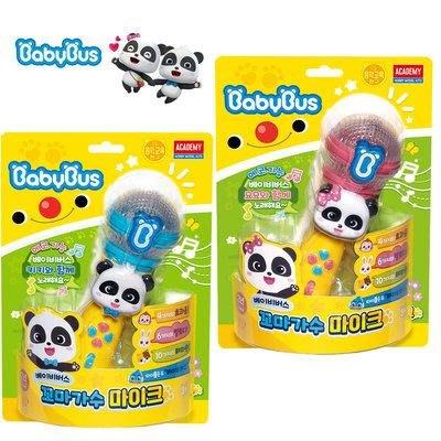 可超取🇰🇷韓國境內版 寶寶巴士 baby bus 奇奇 妙妙 LED 音樂 麥克風 玩具遊戲組