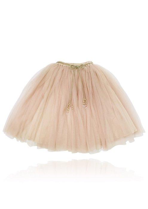 ♡NaNa Baby♡ 荷蘭DOLLY正品【公主雪紡長裙 - 芭蕾粉】