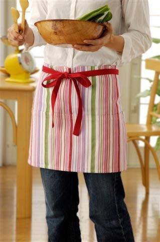 ~FUJIJO~現貨~日本限定專賣【彩條系列】~大人用~ 便利型 廚房/家居 圍裙