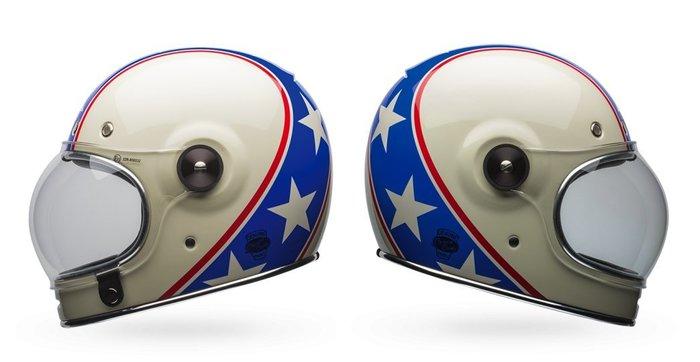 (I LOVE樂多)美國BELL CHEMICAL CANDY BLUE/WHITE全罩安全帽 樂高帽 全車種風格搭配