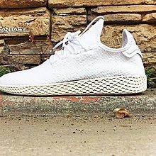 【紐約范特西】現貨 ADIDAS PW TENNIS HU 男鞋 全白 B41792