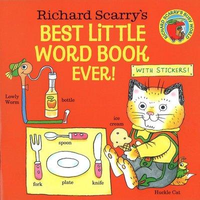 *小貝比的家*RICHARD SCARRY'S BEST LITTLE WORD BOOK EVER!/平裝書/3~6歲