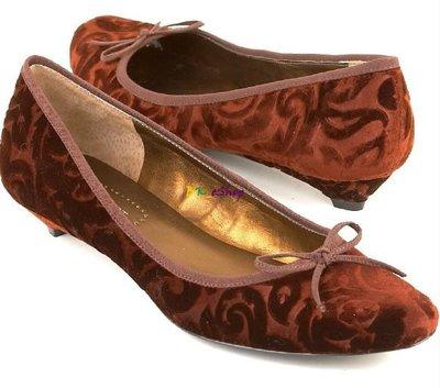 【美衣大鋪】☆ NINE WEST 正品☆Shem model Flats 絨面低跟鞋