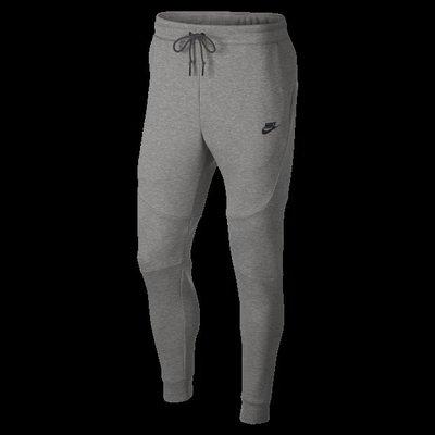 Nike Sportswear Tech Fleece 灰黑 長拉鍊 運動休閒 縮口 長棉褲 男款 805163-063