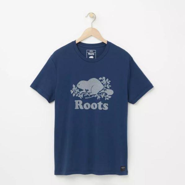 ~☆.•°莎莎~*~~☆~加拿大 ROOTS Cooper Maple T-shirt T恤~現貨特賣M