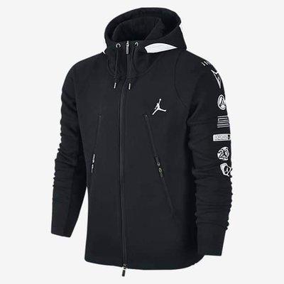 Jordan Accelerated Full-Zip 六冠王紀念外套(黑)
