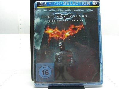 【正版BD】The Dark Knight 2Disc Special Edition (蝙蝠俠:黑暗騎士)德版有中文