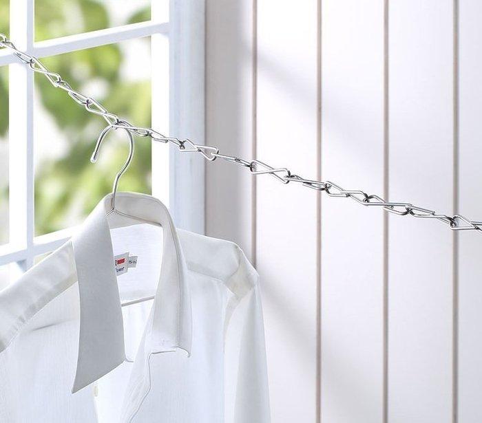 *專利*嚴選不鏽鋼8字還形曬衣鏈,品質好看的到,不畏風吹雨打,曬衣鍊/晒衣鏈/曬衣繩/鍊條/鏈條/不銹鋼鐵鍊