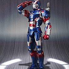 全新未開封 日版 Bandai SHF Iron Patriot 愛國者 Ironman 鐵甲奇俠 非 Hottoys Figma Hot Toys