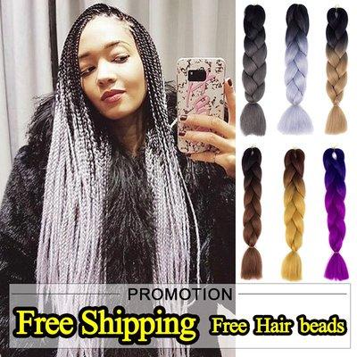SUNNY雜貨-臟辮xpression twist Braids hair ombre braid jumbo expression#假髮#臟辮