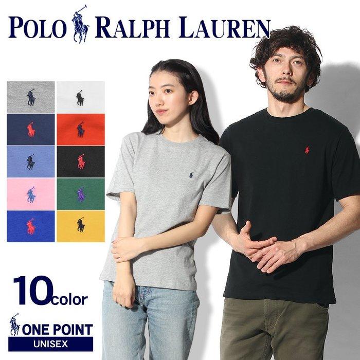 《FOS》日本 RALPH LAUREN 短袖 素面 短T 素T T恤 男女 上班 逛街 約會 好搭 熱銷 2019新款