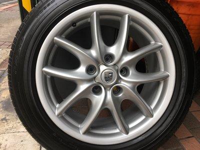 中古 PORSCHE 19吋原廠鋁圈含胎 保時捷 Cayenne Audi Q7 VW Touareg 福斯