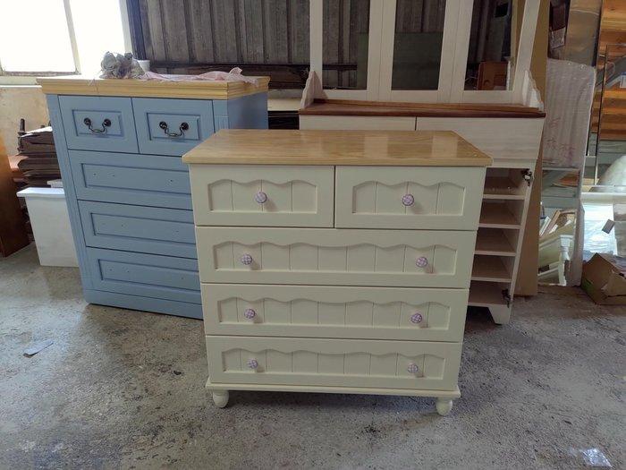 戀戀小木屋。可愛款斗櫃 原木斗櫃  接受訂做