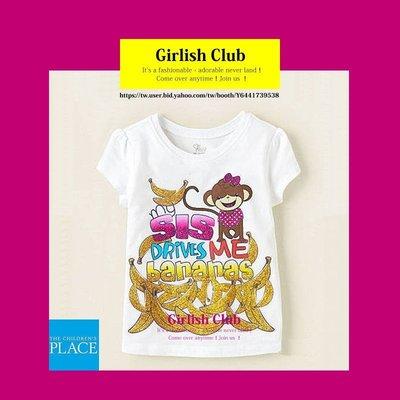 【Girlish Club】the children's place女童猴子上衣4T(c335)gap洋裝二七一元起標